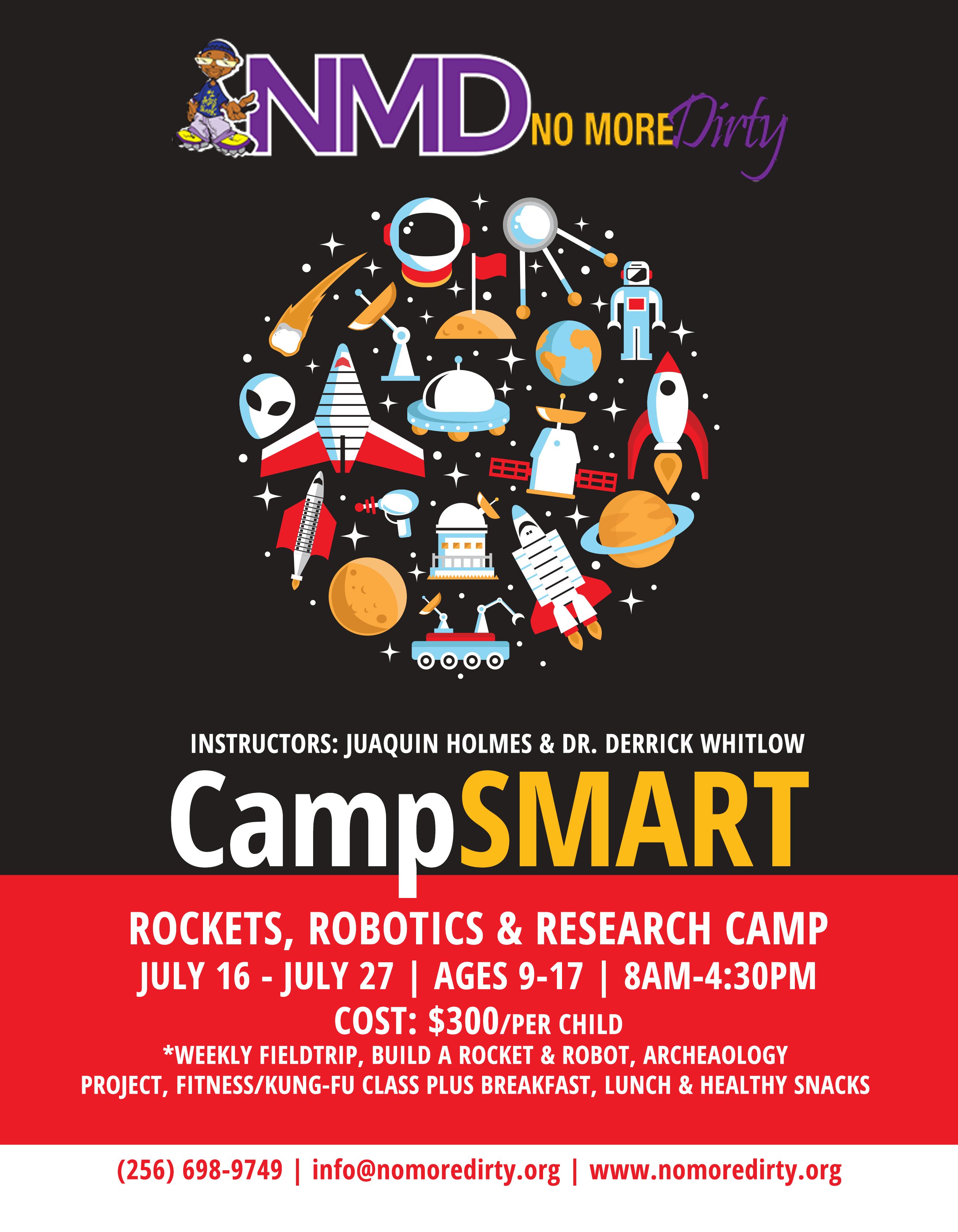 Rockets Robotics Research Campsmart Flyer Page Wjou