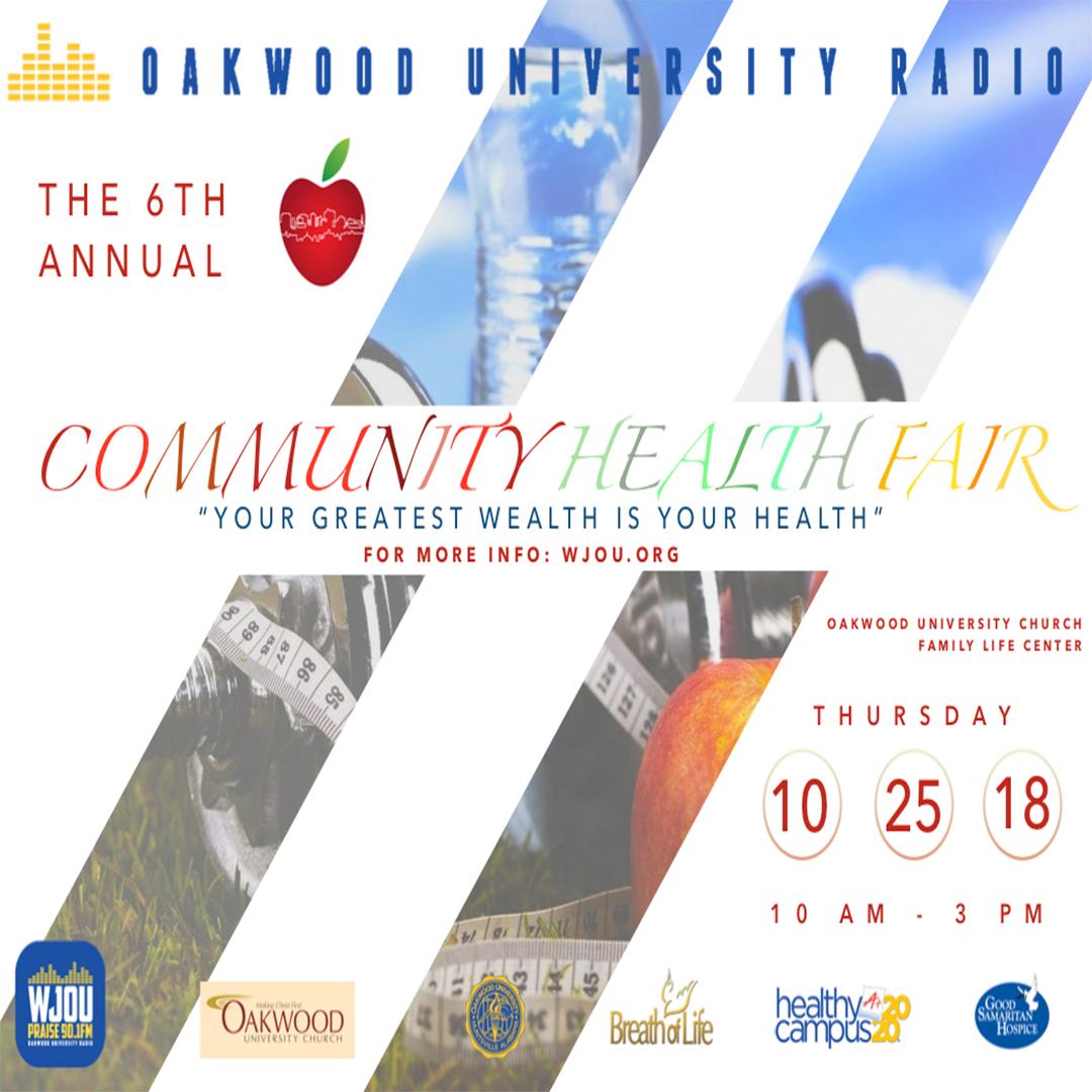 Health Fair Info - WJOU